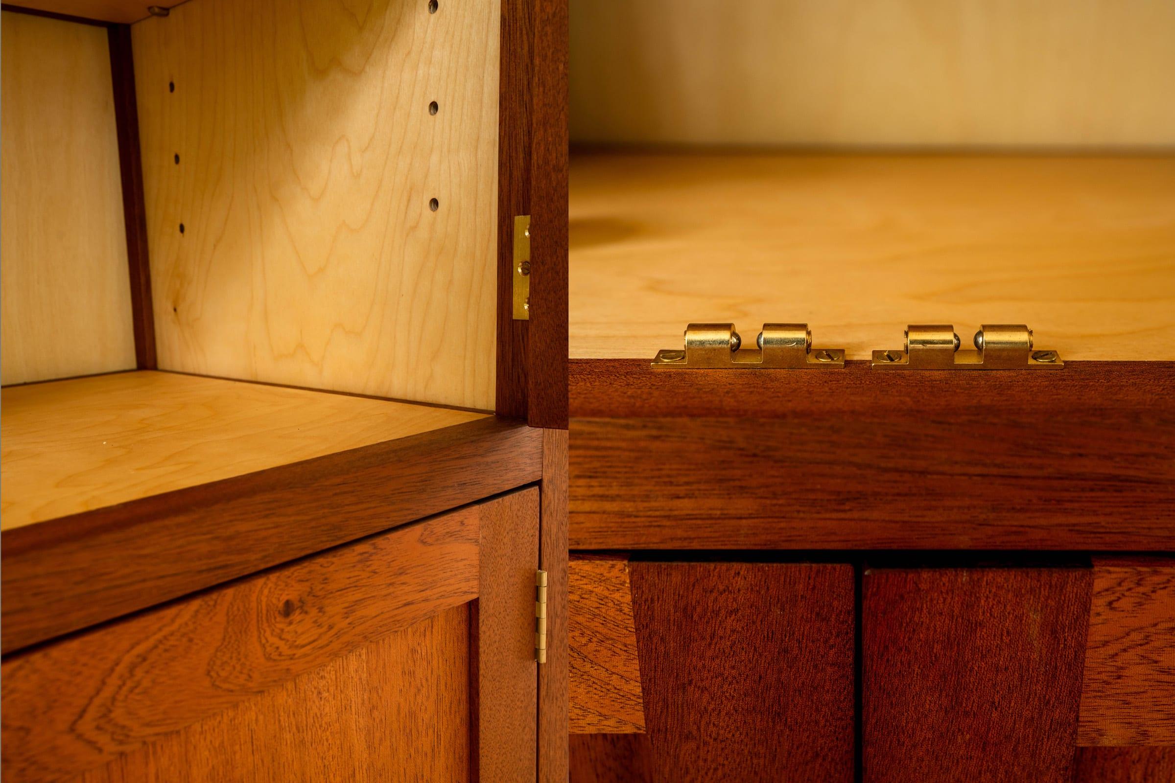 detailfoto servieskast